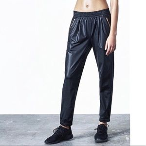 UPDATED ✨Aday hail yes track pants wet look finish